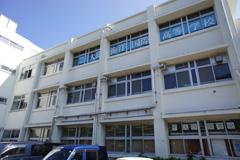 大島海洋国際高校校舎