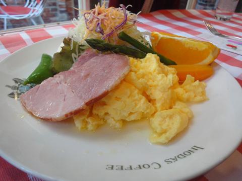 京の朝食・サラダ