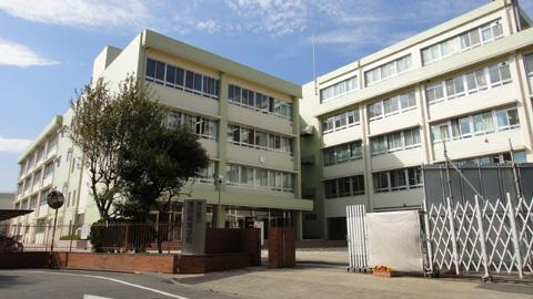 20111017蒲田高校校舎