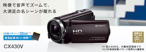 hdr-cx430v