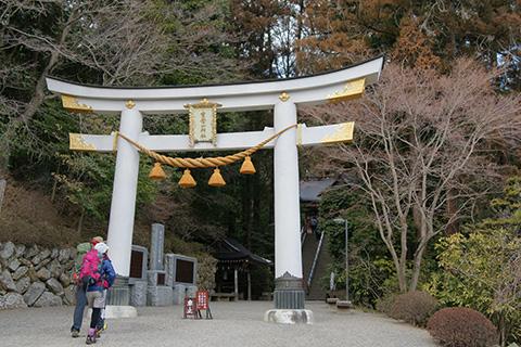 宝来神社の鳥居