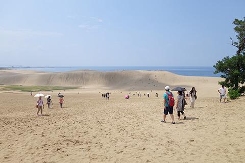 砂丘入り口