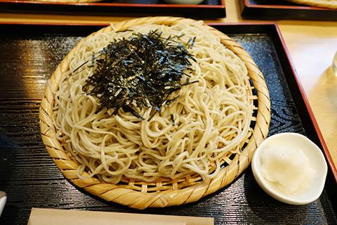 天ぷら蕎麦大盛り
