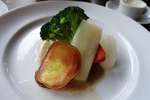 季節野菜のバーニャカウダソース