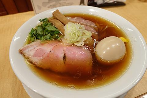 焼豚煮干そば+味玉