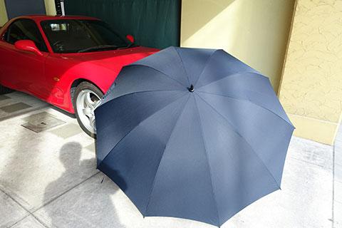 90cm傘の全景
